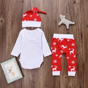 Ho Ho HO Christmas Baby Set
