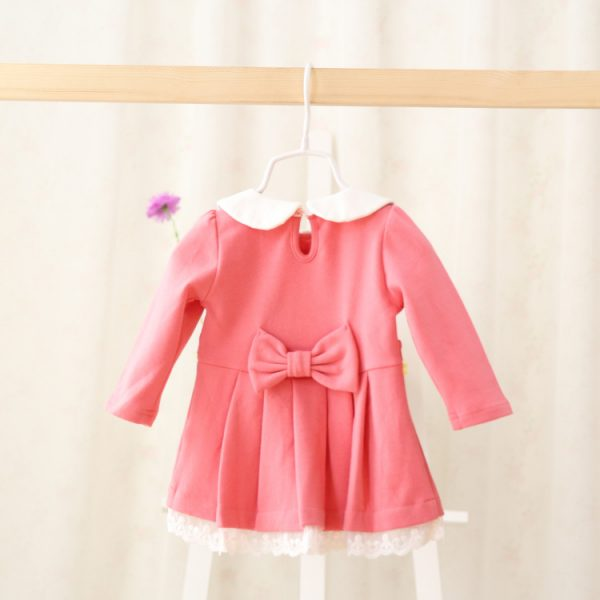 Froly Long Sleeved Baby Girls Dress Dress 1