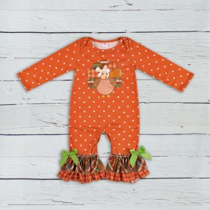 Thanksgiving Baby Girl Jumpsuit