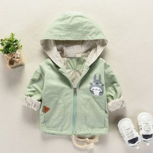 Casual Hooded Baby Jacket