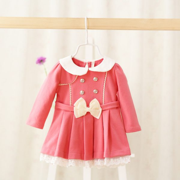Froly Long Sleeved Baby Girls Dress Dress