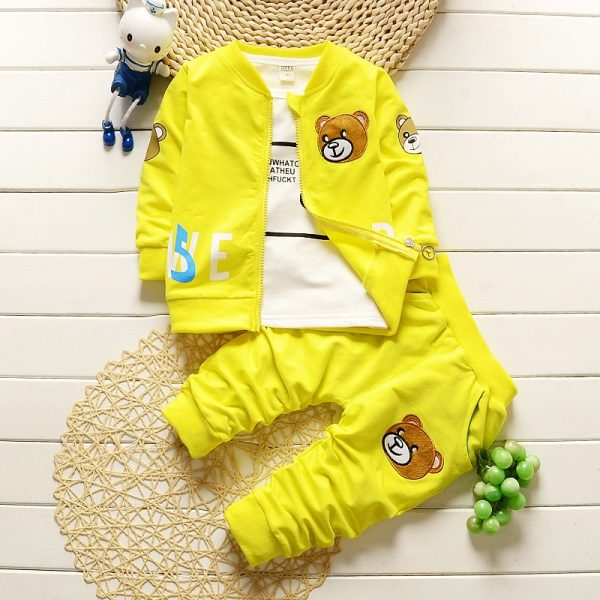 Beary Baby Boy Set 2